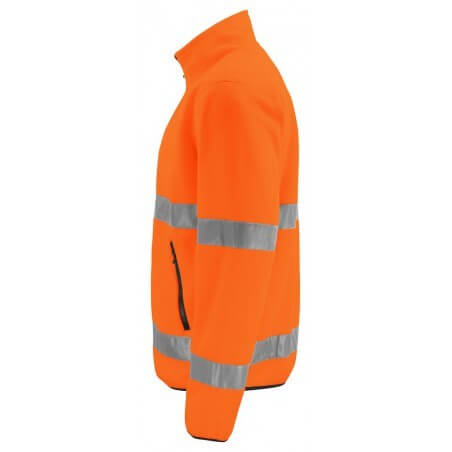 Gilet polaire haute visibilité 6327 Projob orange fluo