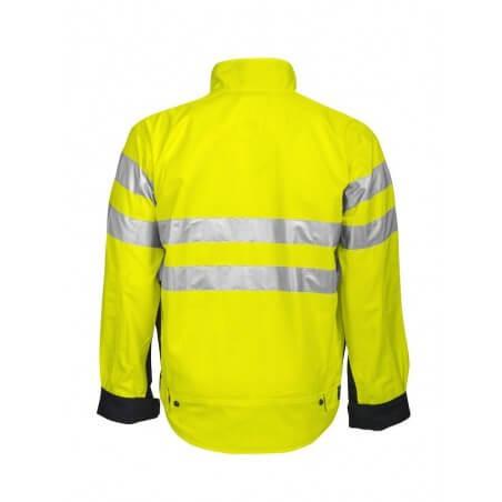 Blouson de haute visibilité 6401 Projob jaune fluo