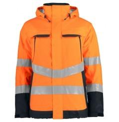 Parka de haute visibilité impermeable 6441 Projob orange fluo