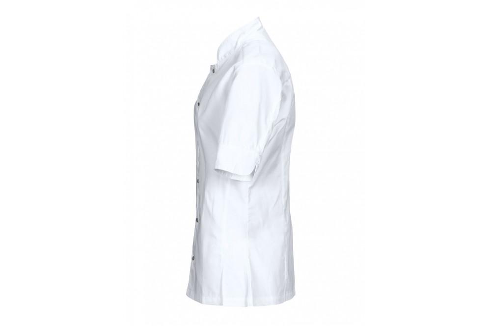 Veste de chef cuisinier coupe ajustée femme 7410 Projob blanche