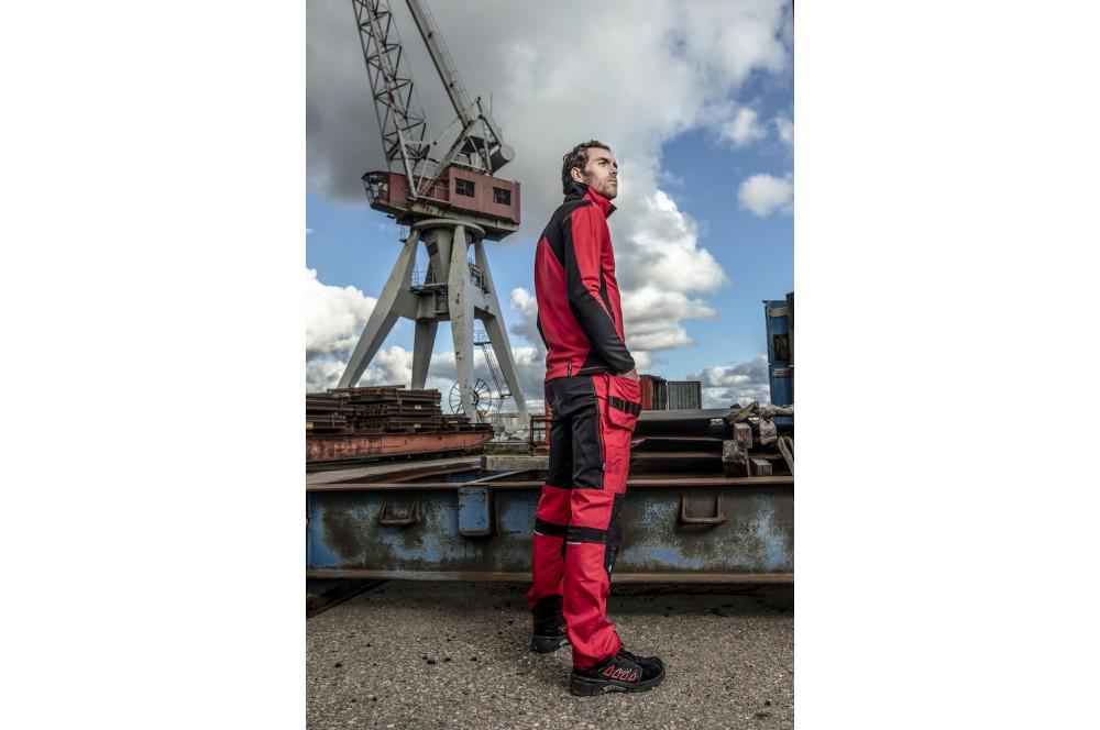 Pantalon de travail résistant en stretch flexible 3520 Projob rouge ou bleu