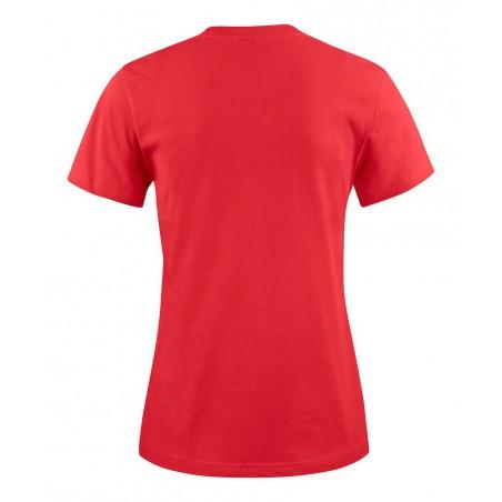 Tee shirt manches courtes femme rouge Heavy RSX lot de 5