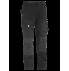 Pantalon de travail ripstop avec tissu extensible Hector noir Herock