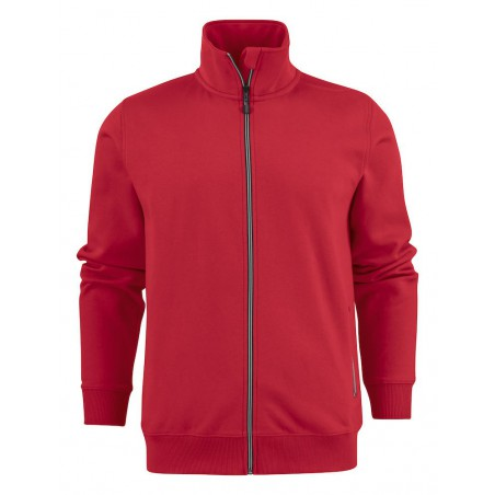 Sweat de travail zippée homme Javelin RSX rouge ou blanc Printer