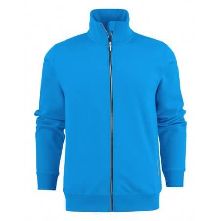 Sweat de travail zippée homme Javelin RSX Bleu ou gris clair Printer
