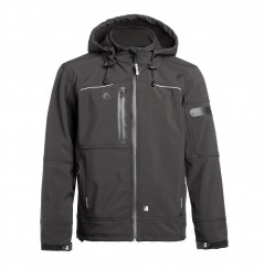 Veste softshell respirante Flores noir North Ways