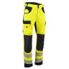 Pantalon de haute visibilité Defense EN ISO 20471 jaune bleu