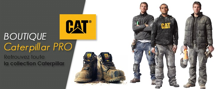 Vêtements de Travail Caterpillar au meilleur prix - CotePro