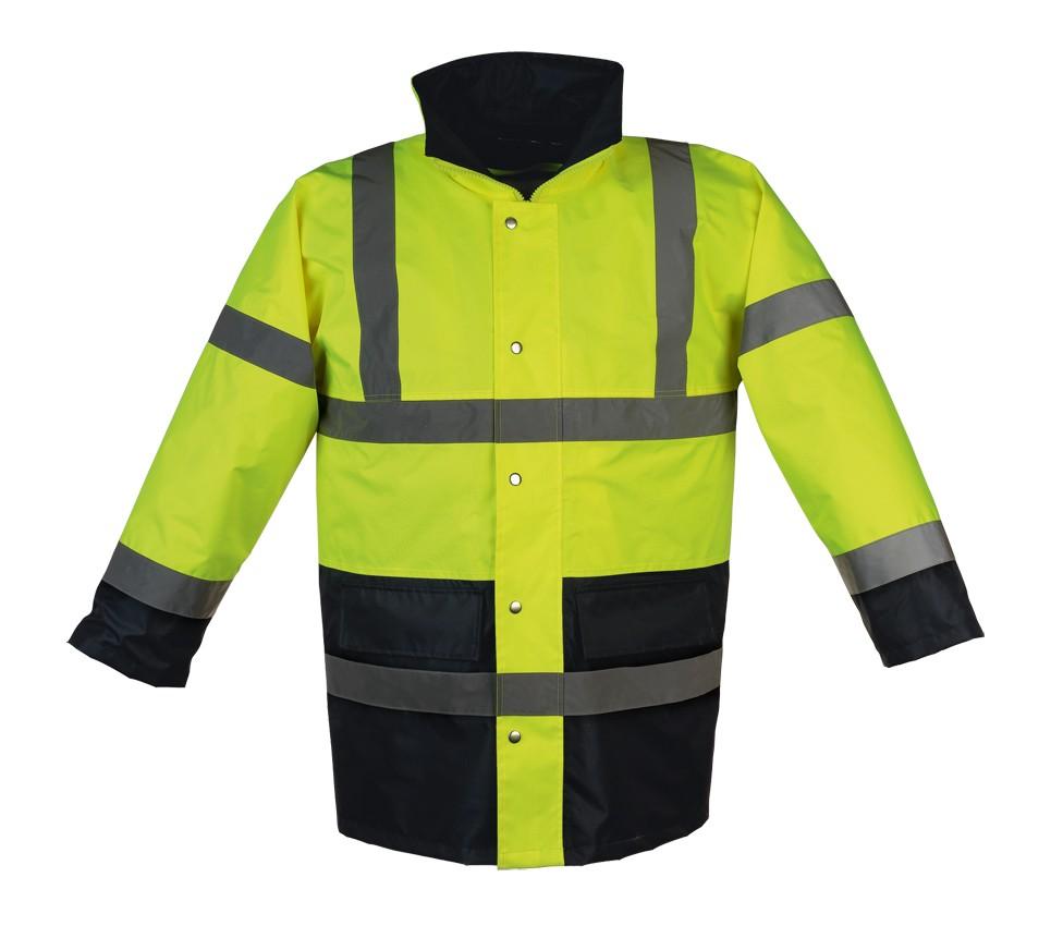 Parka et veste haute visibilité : manteaux, blousons jaune et orange FLUO