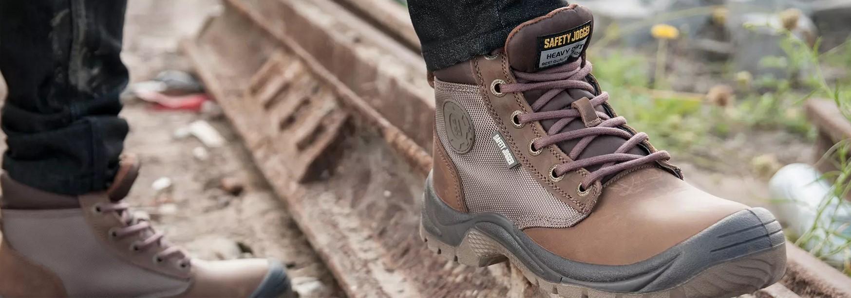 Chaussures sécurité montantes : baskets et tennis hautes pour protection travail