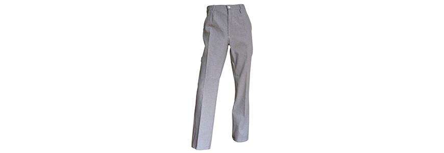 Pantalon de cuisine : pantalons de cuisinier professionnel homme femme pas cher