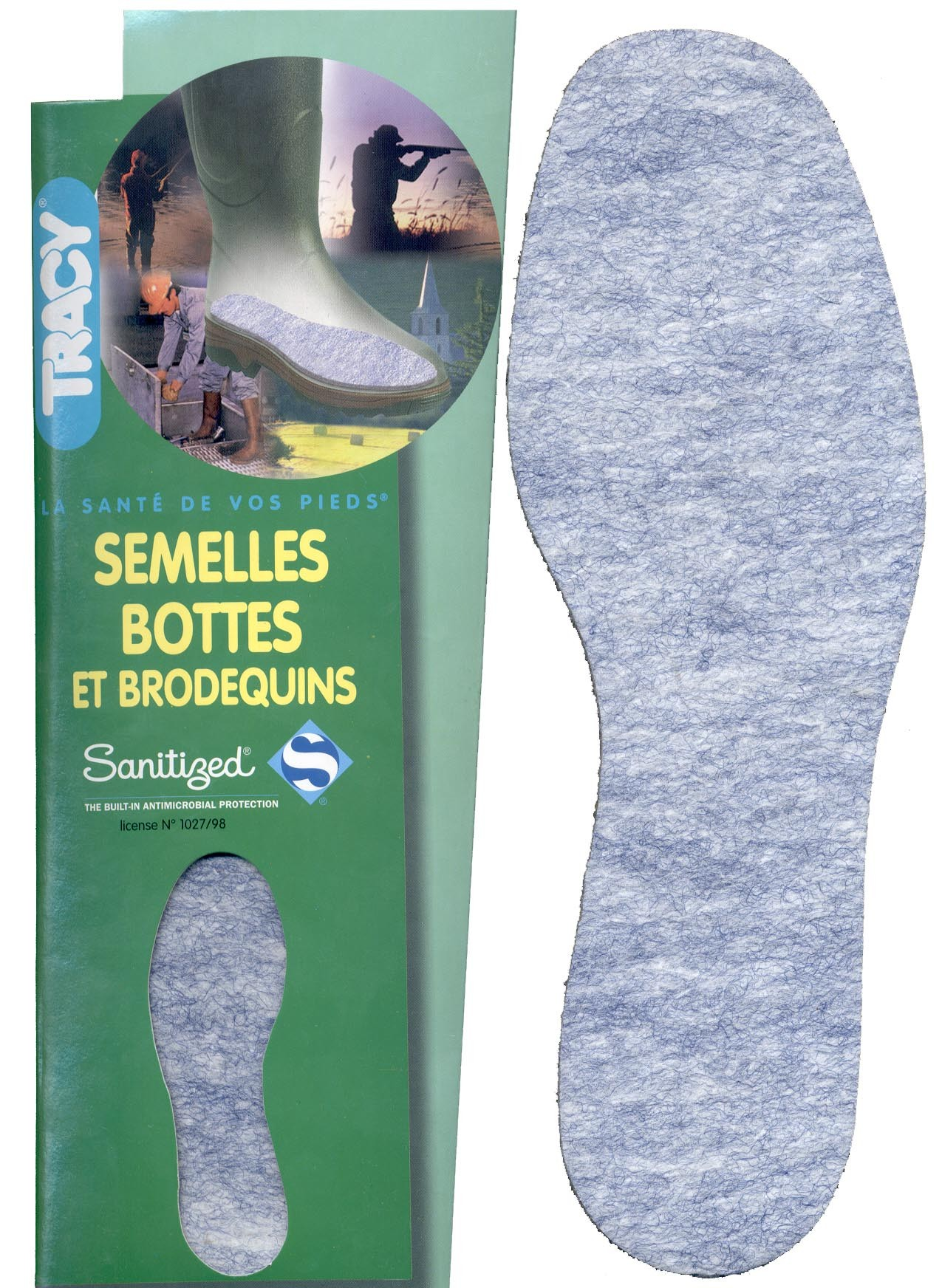 Semelle hygiene chaussures