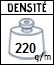 Picto densité tissu
