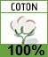 Picto 100% coton