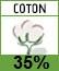 Picto 35% coton