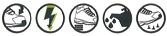 Logo Norme ENISO 20345 S1P